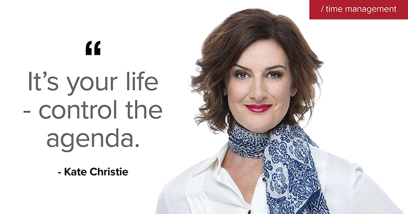 A quote from Kate Christie
